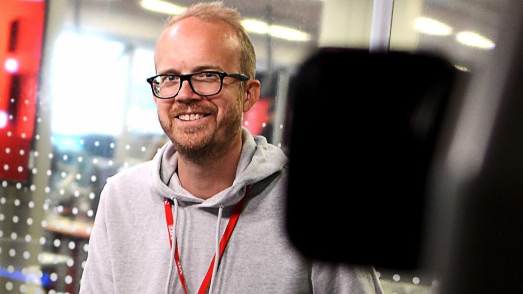 Fersk administrerande direktør i VGTV, Thomas Manus Hønningstad.