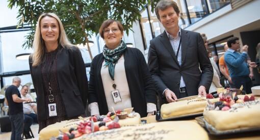 Polaris Media feiret 200.000 abonnenter med kake over hele Norge: - En milepæl
