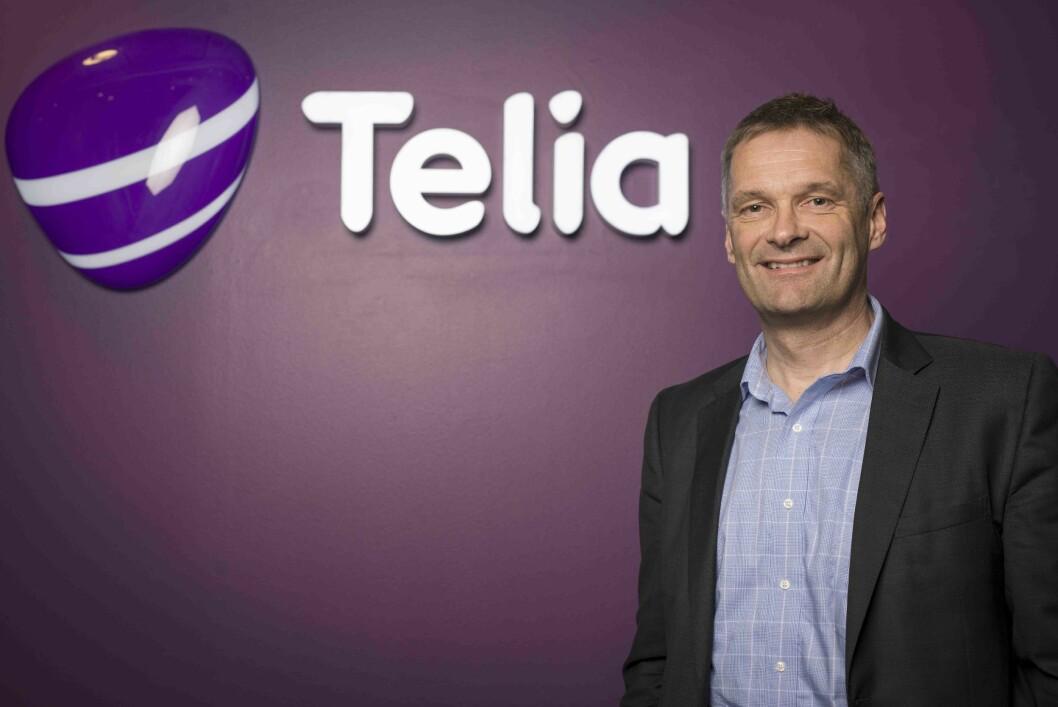 Abraham Foss utnevnes som sjef i nye Telia Norge