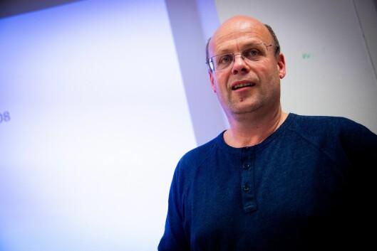 Morten Svesengen, sportsjournalist i Romerikes Blad.