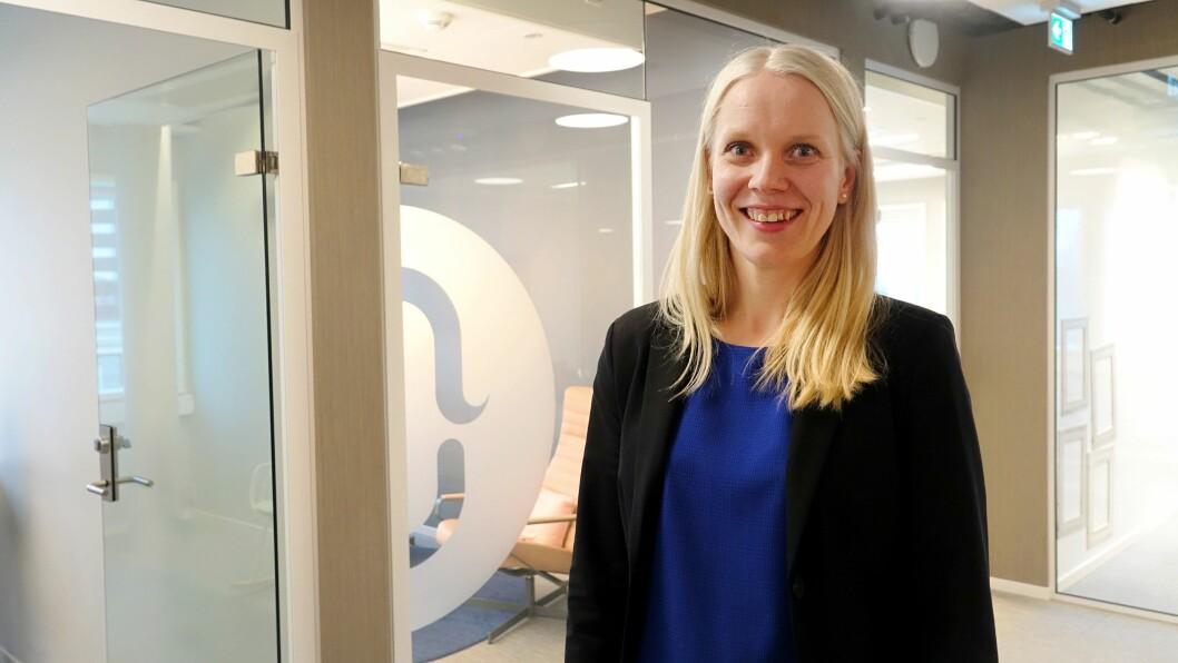 Kristin Spiers er ansatt som seniorrådgiver i Nucleus.