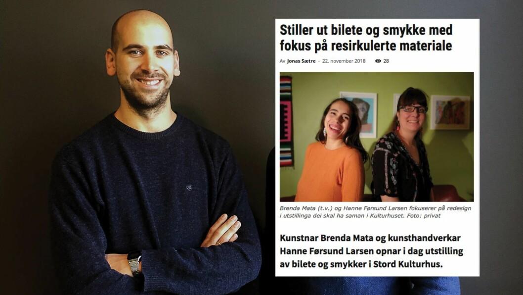 Jonas Sætre i Stord24.