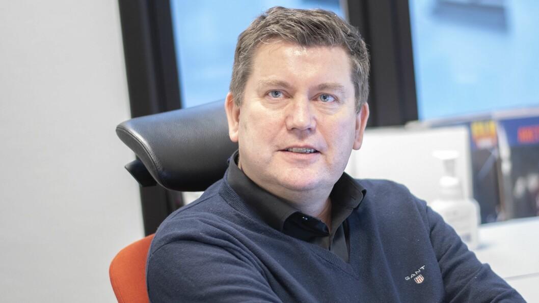 Nyheitsredaktør Arne Sandvik i Bauer Medias Radio Norge.