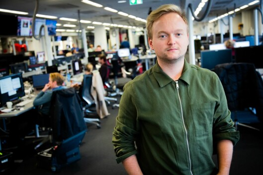 Politisk journalist i VG, Espen Breivik.