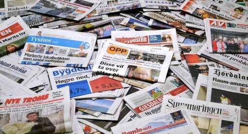 Frykter at lokaljournalistikken gjør seg selv unnværlig