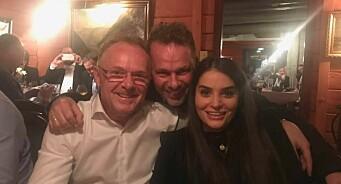 Sandberg og Letnes i løvenes hule: Spiste lutefisk med Fiskeribladet-redaktøren