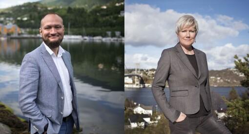 Marit Kalgraf og Eirik L. Fjeld er nye redaktører i Schibsted-aviser i Hordaland