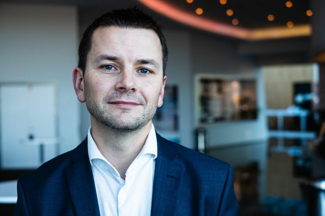 Øyulf Hjertenes, tidlegare sjefredaktør i Bergens Tidende og no administrerande direktør i Schibsted Kyst.