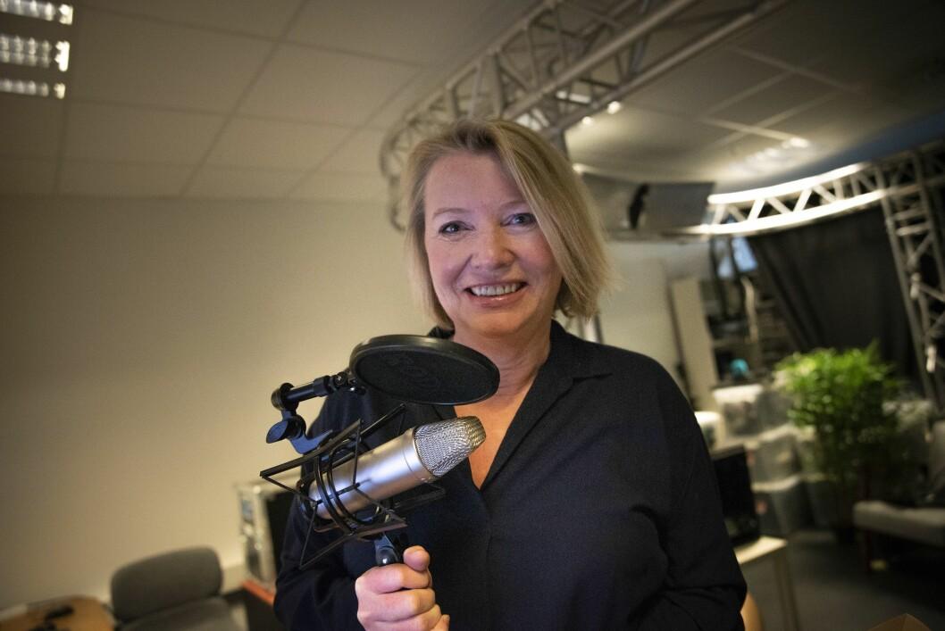 Marie Simonsen har allerede god erfaring med podkasten «Siste med Marie Simonsen».