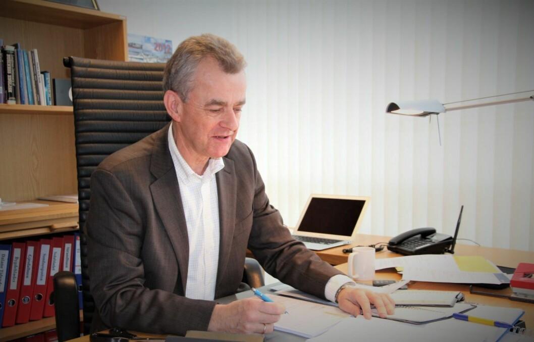 Styreleder Ivar Rusdal i Nordsjø Media.