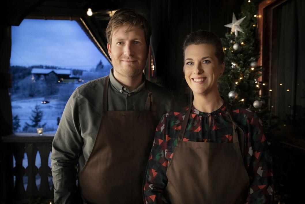 Espen og Kaja Holmboe Bang sørger for julemat som ribbe, pinnekjøtt og den danske jule-klassikeren and.