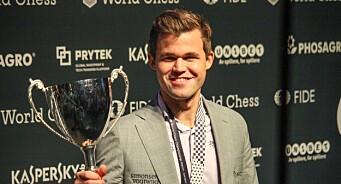 NRKs sjakksending med seerrekord. Over en halv million så onsdagens parti