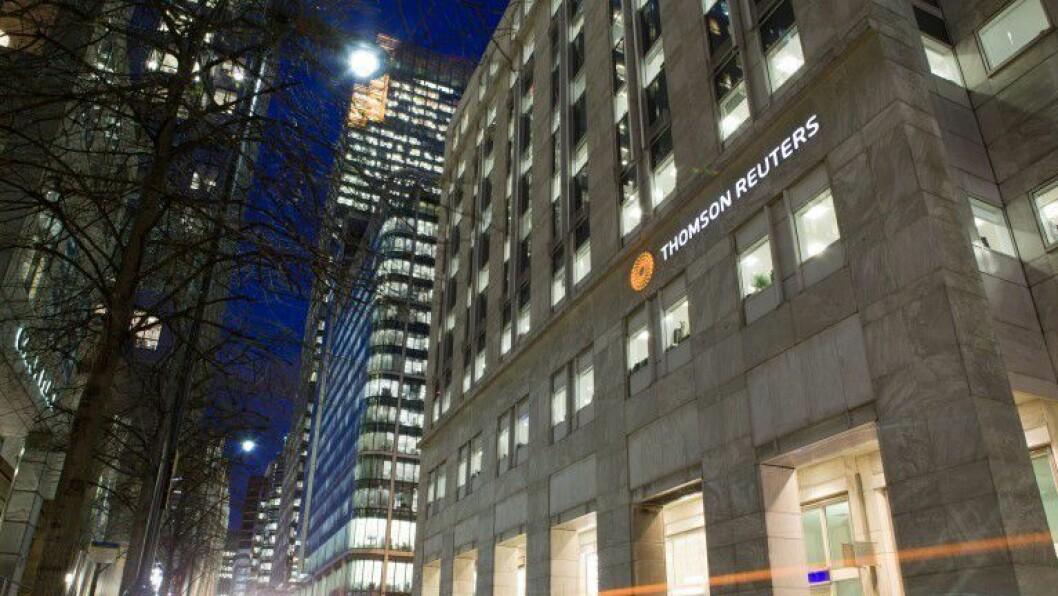En Thomson Reuters-bygning.
