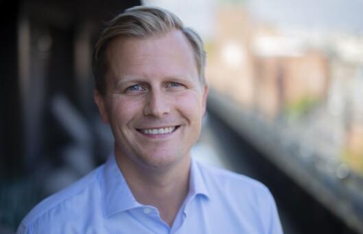Vegard Klubbenes Drogseth, administrerende direktør i NENT - Nordic Entertainment Group Norge.