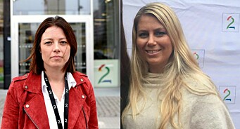 Sarah Willand og Jannicke K. Dyrøy får meir tillit i TV 2-systemet