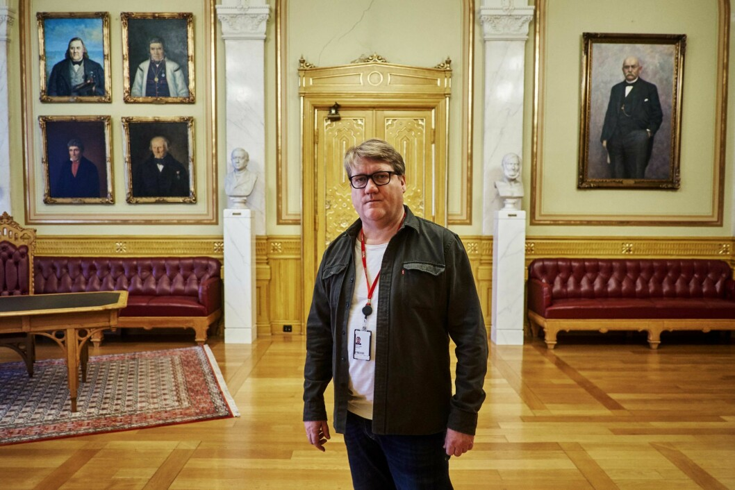 Journalist i VG, Eirik Mosveen.