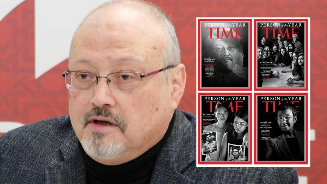 Jamal Khashoggi og Time Magazine.