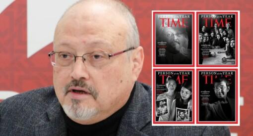 Jamal Khashoggi og andre drepte og fengslede journalister er «Person of The Year»