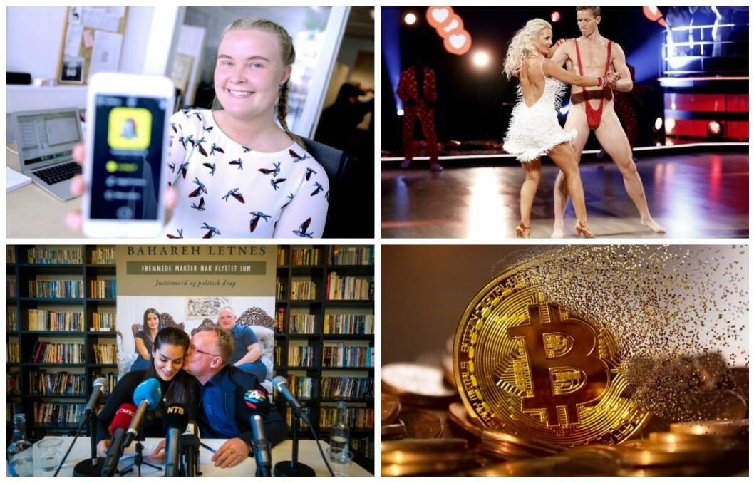 Bitcoin, Frank Løke, Snapchats nye oppdatering og Bahareh Letnes var blant de mest populære Google-søkene i Norge i 2018.