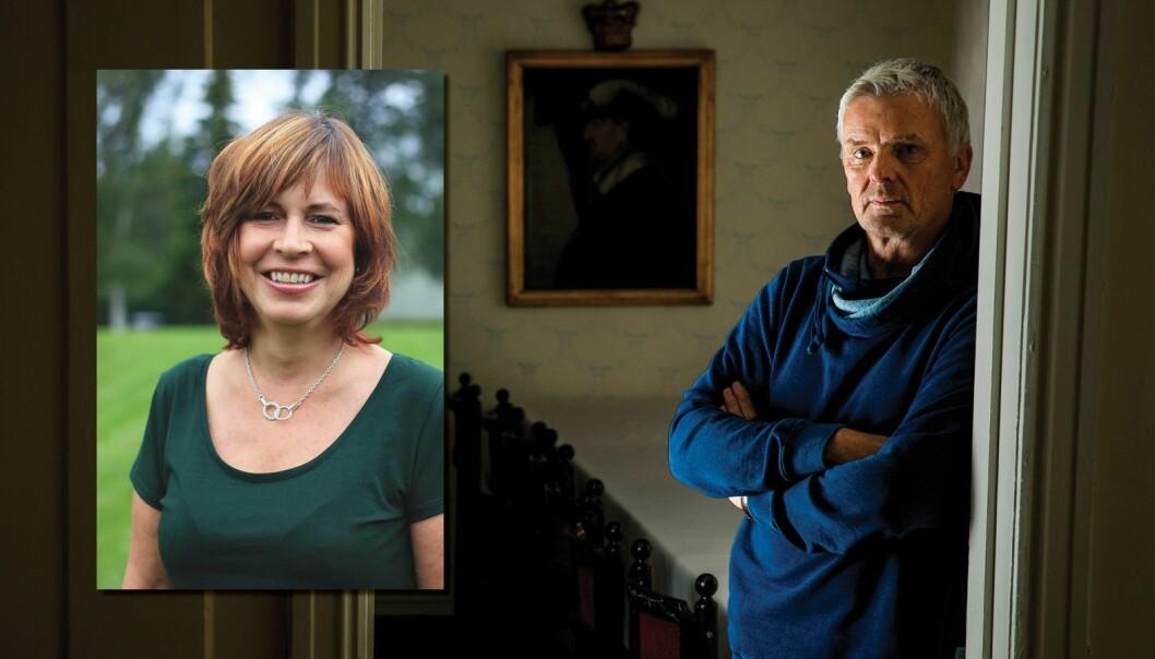Klager Kari F. Bjørklund og progamleder i Åndenes Makt.