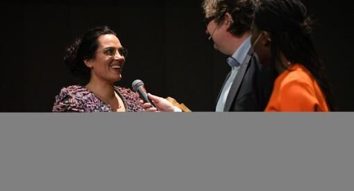 Sunniva-prisen til Frøy Gudbrandsen i BT