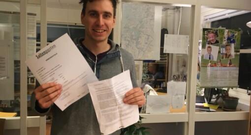 Tarjei Abelsen har fått fast jobb i Saltenposten