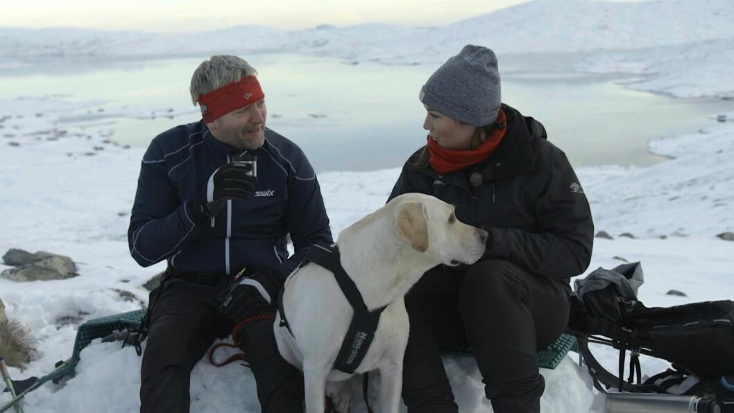 Maren Teien Rørvik (t.v) og Kjetil Korbu Nilsen. Foto: Cato Johansen/NRK
