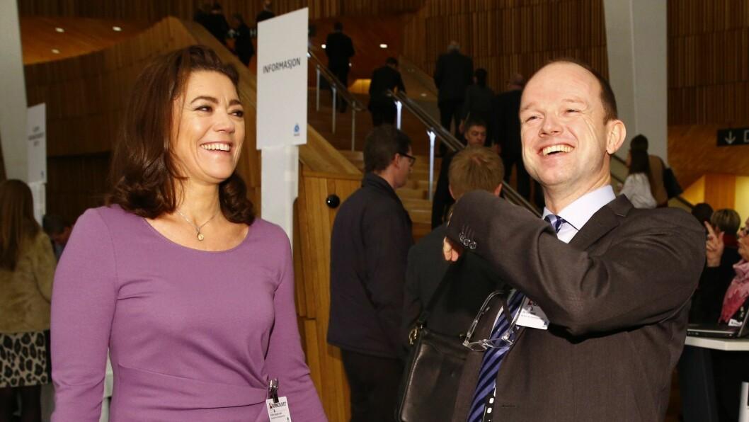 Tidligere NHO-sjef Kristin Skogen Lund ny NHO-sjef, Ole Erik Almlid fotografert for noen år siden.