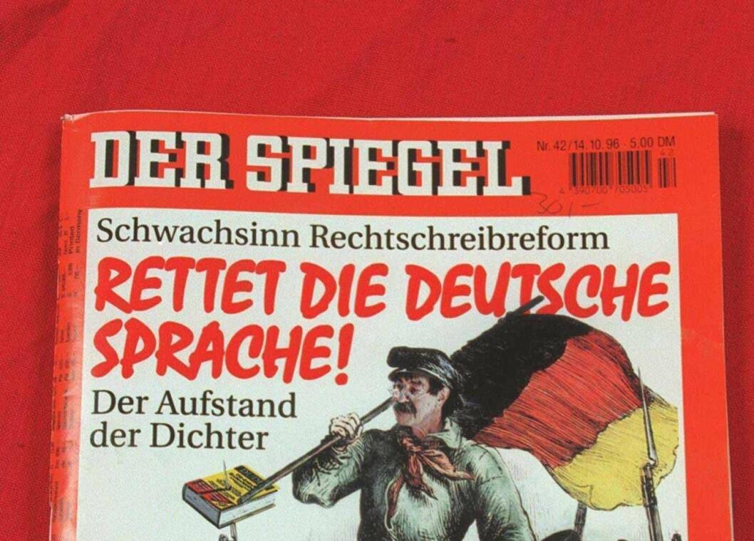 ILLUSTRASJONSBILDE: En gammel versjon av Der Spiegel.