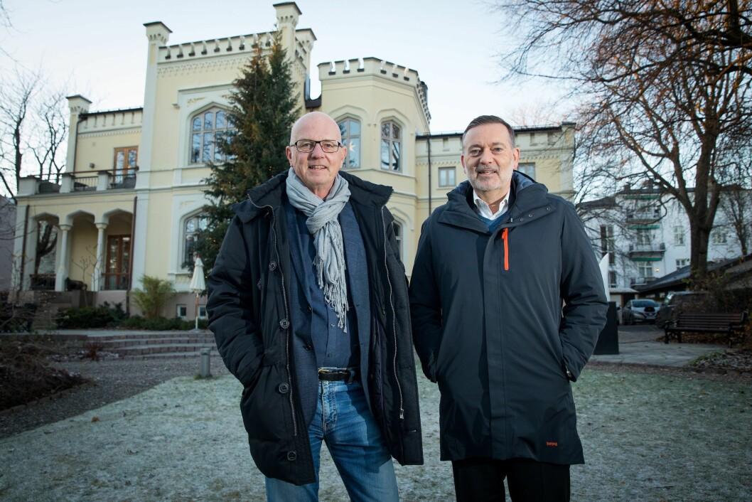 Kruse Larsen og Terje Svabø.