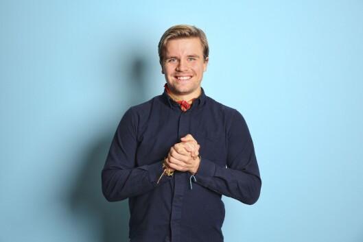 Kine Falch (27) og Jonas Scheie Hammer (25) skal lede nysatsingen «Rød løper».