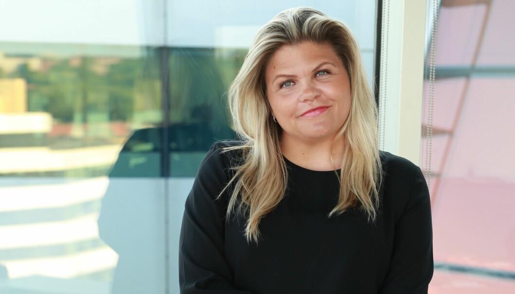 Tinna Gudmundsdottir blir konstituert sjefredaktør i Dagens Næringsliv.
