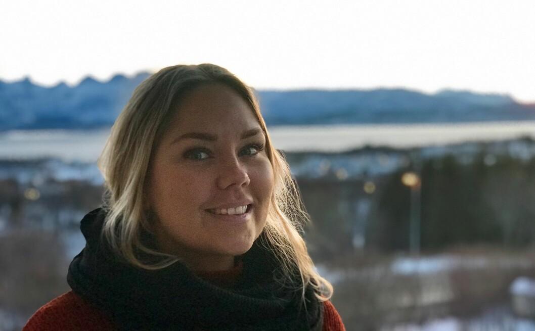 Michelle Bjellmo mener det ikke blir ordentlig jul før man er nord for Polarsirkelen.