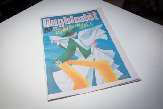 Slik ser ekstrabilaget til Dagbladet ut 2. januar 2019 – 150 år etter avisa si første utgåve.