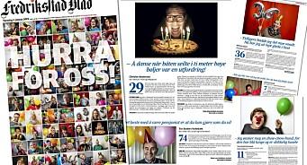 Fredriksstad Blad feirer 130 år med å publisere 73 bursdagsintervju