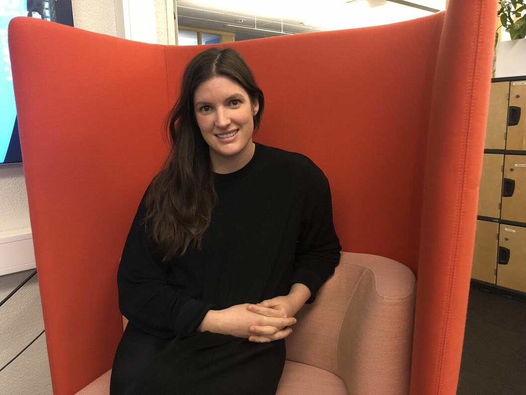 Sofie Gran Aspunvik, leder i IR.