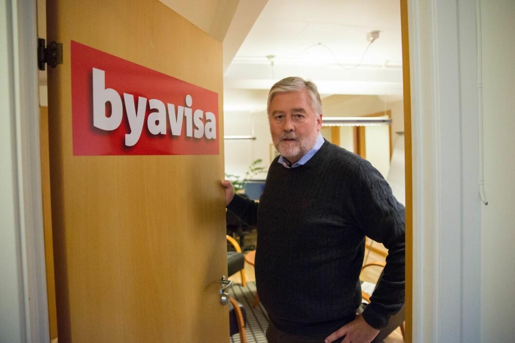 Bjørn Larsen, dagleg leiar i Byavisa.
