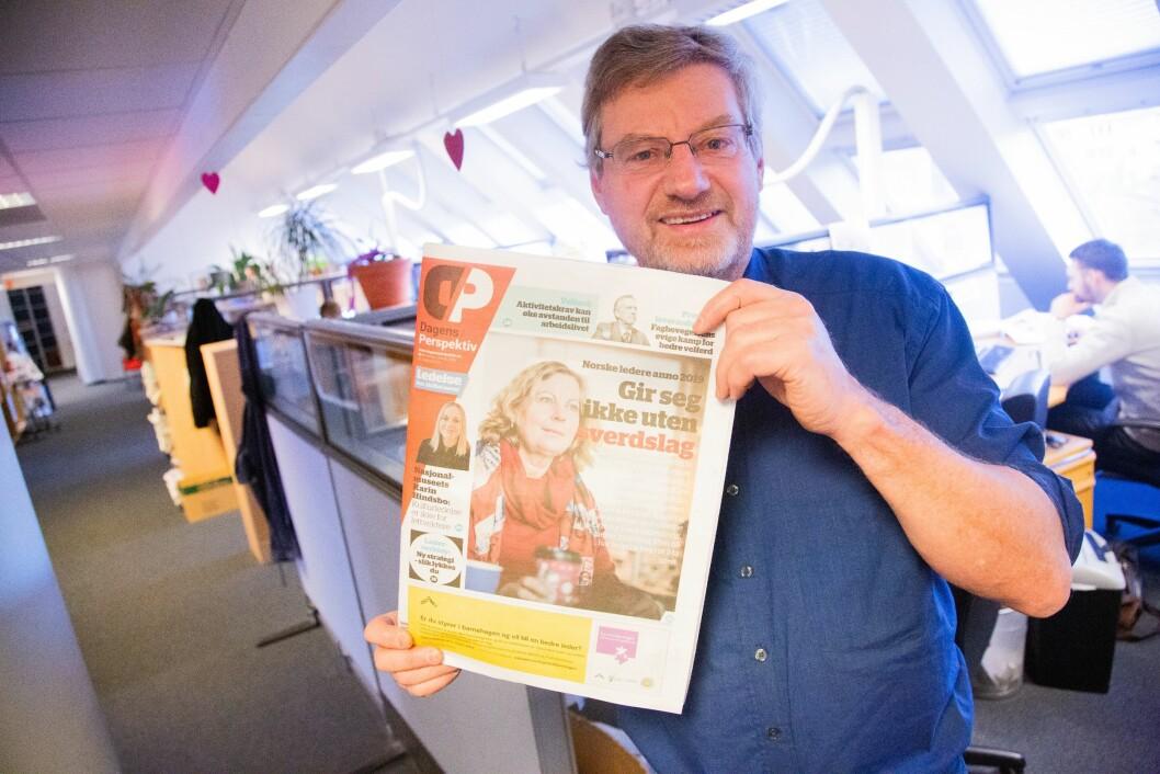 Magne Lerø, redaktør i Dagens Perspektiv og søsterpublikasjonane.