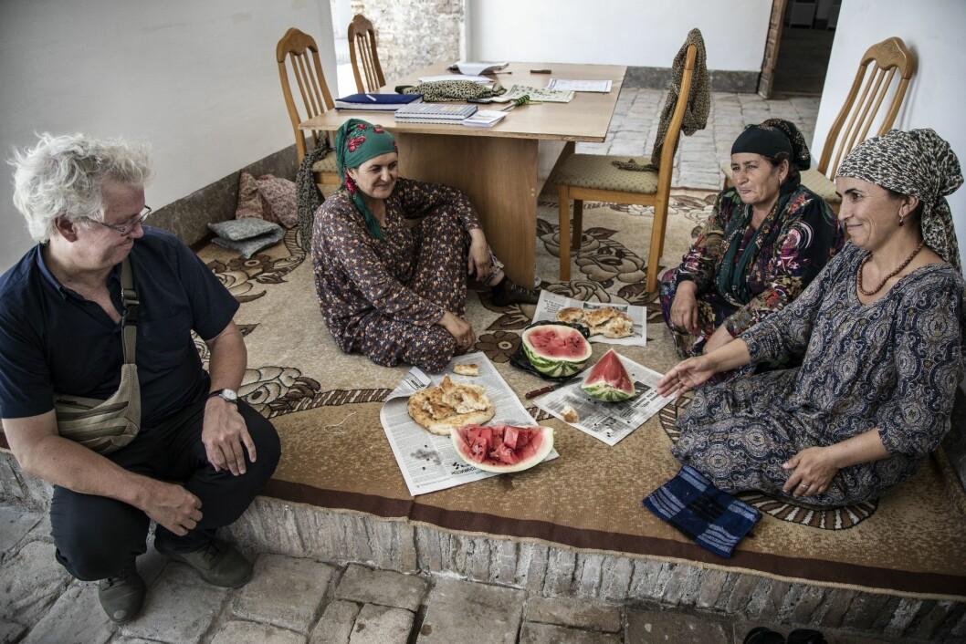 Per Anders Johansen i Pamir i Tadsjikistan i sommar.