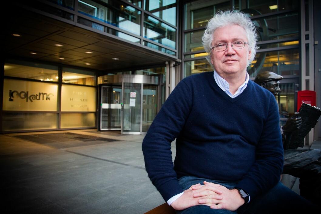 Per Anders Johansen, avtroppande Moskva-korrespondent for Aftenposten.