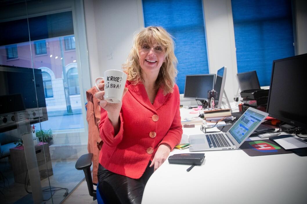 Ansvarleg redaktør i TV Haugaland, Karen Hesseberg.