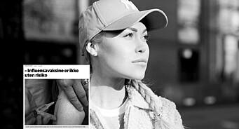 Aftenpostens Ingeborg Senneset ut mot vaksineinnlegg i Ringerikes Blad: - Konstruert av frykt, ikke fakta