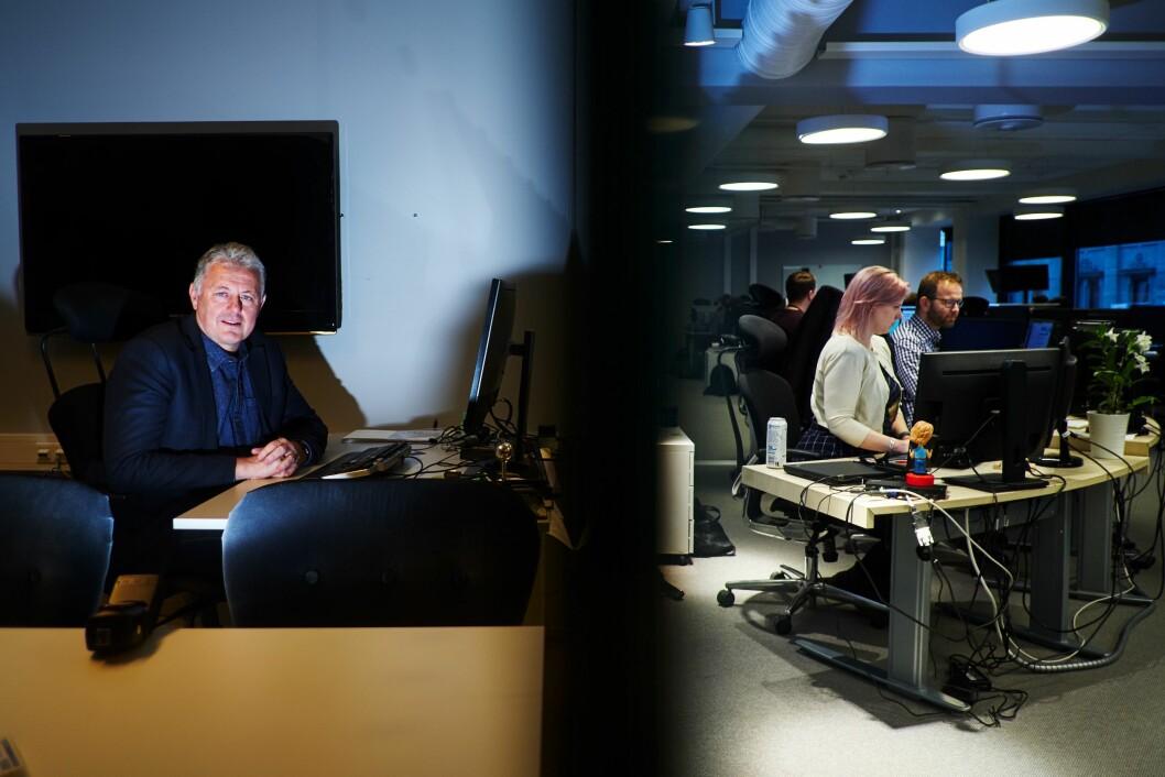 Gunnar Stavrum, ansvarleg redaktør i Nettavisen.