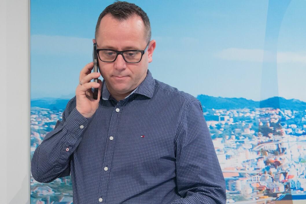 Dagleg leiar Heine Birkeland i TV Haugaland.