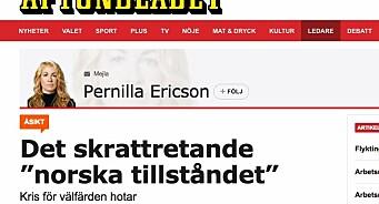 Faktisk har faktasjekket svenske Aftonbladet - og gir avisa stryk