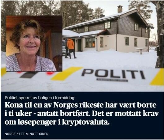 Skjermbilde: Aftenposten.