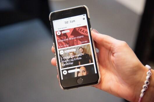 BT sin nye lyd-app, «BT Lytt».