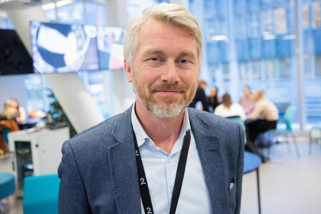 Administrerende direktør og sjefredaktør Olav T. Sandnes i TV 2.