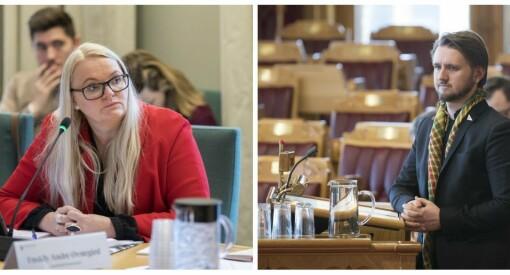 Sp og SV ut mot den nye regjeringens mediepolitikk: - Kan svekke NRK betraktelig
