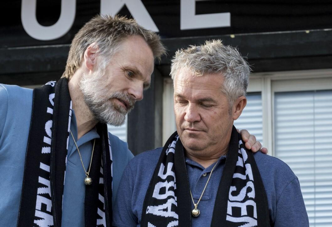Tidligere trenerduo Kåre Ingebrigtsen(th) og Erik Hoftun ved arrangementet
